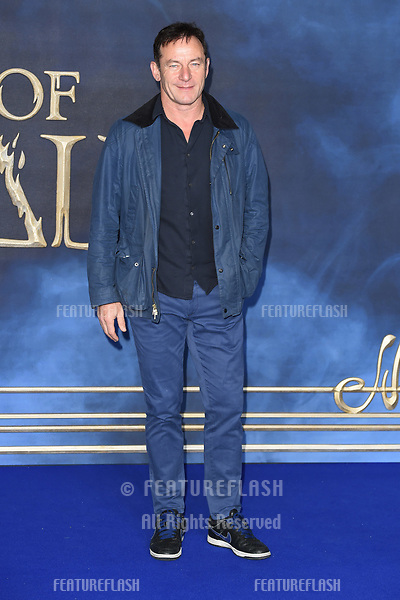 """LONDON, UK. November 13, 2018: Jason Isaacs at the """"Fantastic Beasts: The Crimes of Grindelwald"""" premiere, Leicester Square, London.<br /> Picture: Steve Vas/Featureflash"""