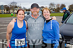 Emma Cunnane, Brian and Lorna Whyte runners at the Kerry's Eye Tralee, Tralee International Marathon and Half Marathon on Saturday.