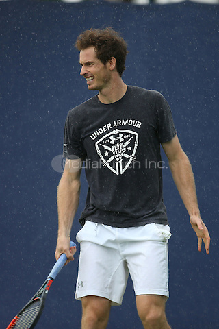 Andy Murray<br /> Aegon Queens tennis Championship<br /> in London, England June 13, 2016.<br /> CAP/GOL<br /> &copy;GOL/Capital Pictures /MediaPunch ***NORTH AND SOUTH AMERICAS ONLY***
