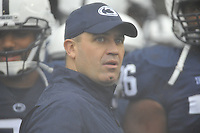 21 September 2013:  Penn State coach Bill O'Brien. The Penn State Nittany Lions defeated the Kent State Golden Flashes 34-0 at Beaver Stadium in State College, PA.
