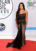 Demi Lovato at the 2017 American Music Awards at the Microsoft Theatre LA Live, Los Angeles, USA 19 Nov. 2017<br /> Picture: Paul Smith/Featureflash/SilverHub 0208 004 5359 sales@silverhubmedia.com