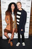 Vick Hope and Jimmy Hill<br /> arriving for the Natural History Museum Ice Rink launch party 2017, London<br /> <br /> <br /> ©Ash Knotek  D3340  25/10/2017