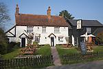 The Cock Inn, local village pub, Polstead, Suffolk, England