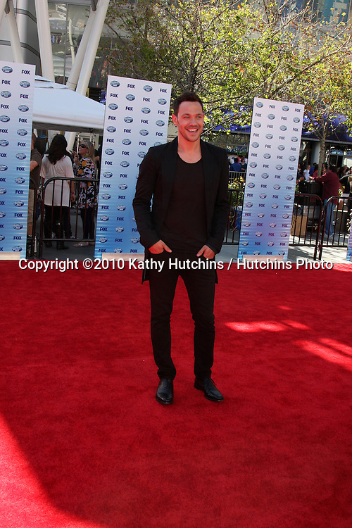 Will Young.arrives at the American Idol Finale - Season 9.Nokia Live.Los Angeles, CA.May 26, 2010.©2010 Kathy Hutchins / Hutchins Photo....