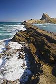 Rocky reef at Castlepoint, Masterton, NZ