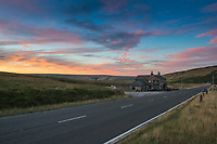 Sunset at the former 'Great Western Inn' at Standedge just outside of Marsden, West Yorkshire.