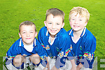 CAMP: At the GAA VHI Cu?l Camp at Kilmoyley on Thursday last were Evan Griffin, Cathal Sheahan and David Godley.   Copyright Kerry's Eye 2008