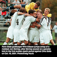 penn state's whit gibson college soccer