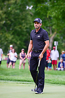 Sergio Garcia (ESP) watches his putt on 10 during Saturday's round 3 of the World Golf Championships - Bridgestone Invitational, at the Firestone Country Club, Akron, Ohio. 8/5/2017.<br /> Picture: Golffile | Ken Murray<br /> <br /> <br /> All photo usage must carry mandatory copyright credit (&copy; Golffile | Ken Murray)