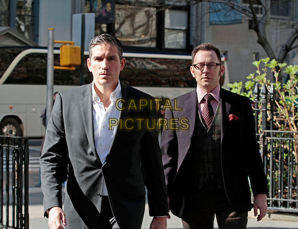 "Jim Caviezel & Michael Emerson .in Person of Interest (Series 1, Episode. 22 ""No Good Deed"").*Filmstill - Editorial Use Only*.CAP/NFS.Supplied by Capital Pictures."
