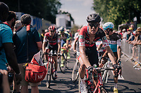 Michael Sch&auml;r (SUI/BMC) post-finish<br /> <br /> Stage 9: Arras Citadelle &gt; Roubaix (154km)<br /> <br /> 105th Tour de France 2018<br /> &copy;kramon