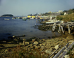 Fishing village, Northwest Cove, Nova Scotia<br />