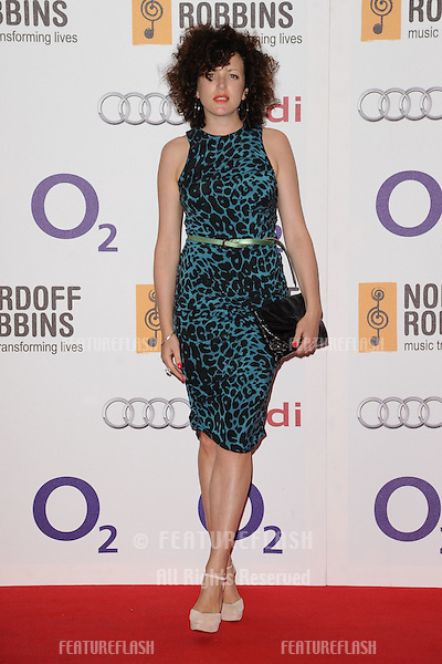 Annie Mac arriving for the Nordoff Robbins Silver Clef Awards 2012, London. 29/06/2012 Picture by: Steve Vas / Featureflash