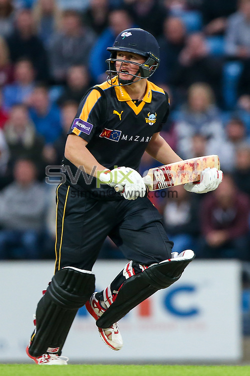 Picture by Alex Whitehead/SWpix.com - 19/06/2015 - Cricket - NatWest T20 Blast - Yorkshire Vikings v Nottinghamshire Outlaws - Headingley Cricket Ground, Leeds, England - Yorkshire's Gary Ballance.