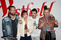 DNCE at the opening celebration for Westfield Century City at Century City, Los Angeles, USA 03 Oct. 2017<br /> Picture: Paul Smith/Featureflash/SilverHub 0208 004 5359 sales@silverhubmedia.com