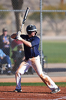 Cole Nisbit (52), from Fountain City, Wisconsin, while playing for the Padres during the Under Armour Baseball Factory Recruiting Classic at Red Mountain Baseball Complex on December 29, 2017 in Mesa, Arizona. (Zachary Lucy/Four Seam Images)