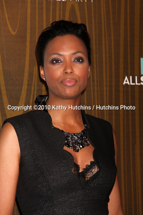 Aisha Tyler.arriving at the 2010 Winter Fox TCA Party .Villa Sorisso Resturant.Pasadena, CA.January 11, 2010.©2010 Kathy Hutchins / Hutchins Photo....