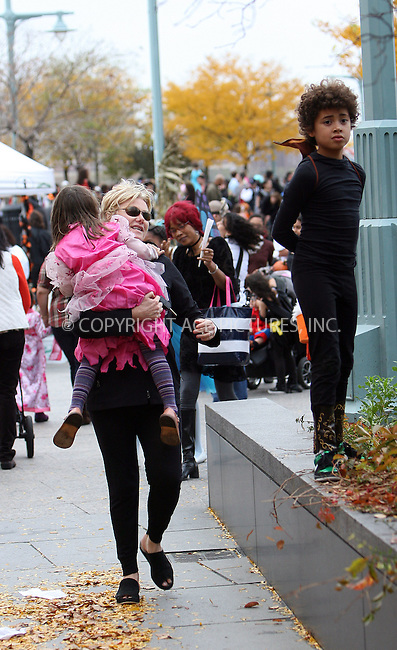WWW.ACEPIXS.COM . . . . .  ....October 31 2009, New York City....Wife of actor Hugh Jackman, Deborra-Lee Furness took their children Oscar and Ava out on Halloween in the West Village on October 31 2009 in New York City....Please byline: NANCY RIVERA- ACEPIXS.COM.... *** ***..Ace Pictures, Inc:  ..Tel: 646 769 0430..e-mail: info@acepixs.com..web: http://www.acepixs.com