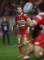 Picture by Anna Gowthorpe/SWpix.com - 02/02/2018 - Rugby League - Betfred Super League - Hull KR v Wakefield Trinity - KC Lightstream Stadium, Hull, England - Hull KR's Thomas Minns