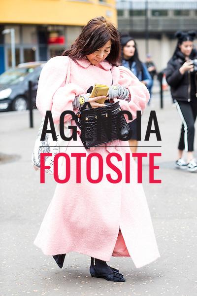 Street Style<br /> <br /> Londres - Inverno 2017<br /> <br /> Fevereiro 2017<br /> <br /> foto: FOTOSITE