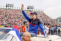 Motorsports: FIA Formula One World Championship, WM, Weltmeisterschaft 2019, Grand Prix of Mexico, 26 Daniil Kvyat RUS, Red Bull Toro Rosso Honda during the drivers parade