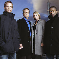 RUPERT PENRY-JONES, MATTHEW MACFADYEN, KEELEY HAWES & DAVID OYELOWO.in MI-5.*Editorial Use Only*.www.capitalpictures.com.sales@capitalpictures.com.Supplied by Capital Pictures.