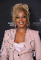 06 January 2018 - Beverly Hills, California - Mary J. Blige. 2018 BAFTA Tea Party held at The Four Seasons Los Angeles at Beverly Hills in Beverly Hills. <br /> CAP/ADM/BT<br /> &copy;BT/ADM/Capital Pictures