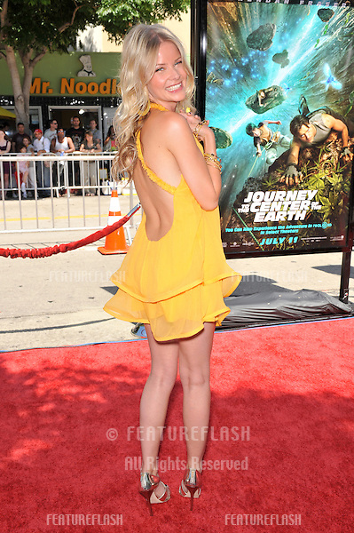 "Anita Briem at the world premiere of her new movie ""Journey to the Center of the Earth"" at the Mann Village Theatre, Westwood..June 29, 2008  Los Angeles, CA.Picture: Paul Smith / Featureflash"