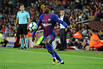 League Santander 2017/2018. Game: 05.<br /> FC Barcelona vs SD Eibar: 6-1.<br /> Semedo.