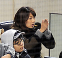 Mai Tanaka, APRIL 9, 2014 - MLB : Mai Tanaka (New York Yankees' picther Masahiro Tanaka's wife) is seen during the MLB game between the New York Yankees and the Baltimore Orioles at Yankee Stadium in The Bronx, New York, United States. (Photo by AFLO)