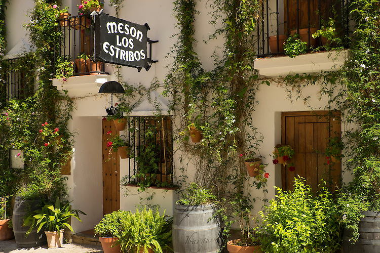 This organic store front sets the mood in the small hill town of Zahara de la Sierra.