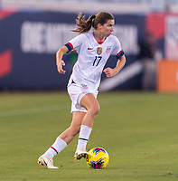 , FL - : Tobin Heath #17 of the United States dribbles during a game between  at  on ,  in , Florida.