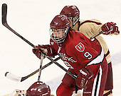 Lyndsey Fry (Harvard - 9) (Walsh) - The Boston College Eagles defeated the visiting Harvard University Crimson 3-1 in their NCAA quarterfinal matchup on Saturday, March 16, 2013, at Kelley Rink in Conte Forum in Chestnut Hill, Massachusetts.