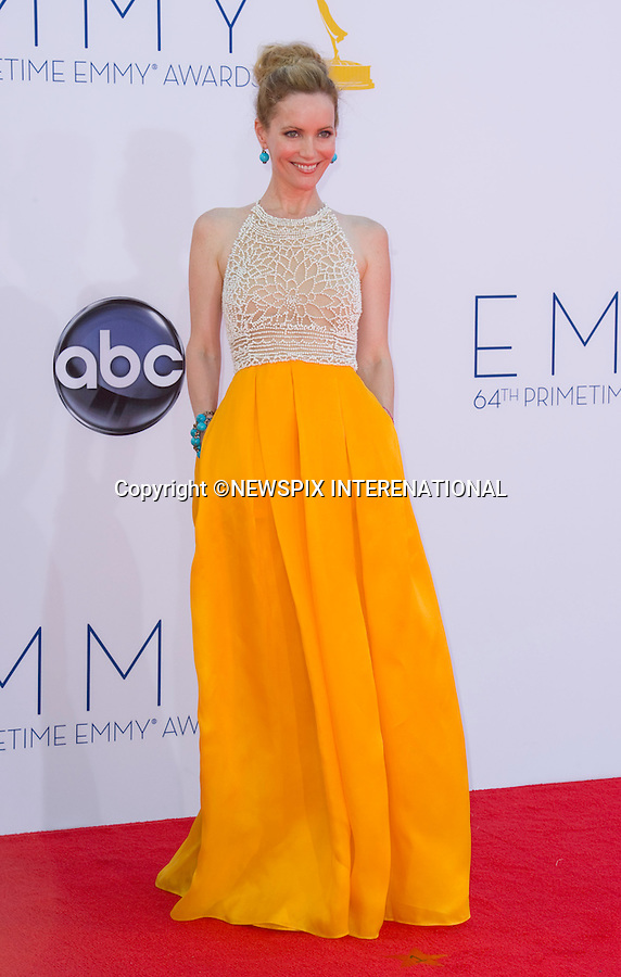 """LESLIE MANN - 64TH PRIME TIME EMMY AWARDS.Nokia Theatre Live, Los Angelees_23/09/2012.Mandatory Credit Photo: ©Dias/NEWSPIX INTERNATIONAL..**ALL FEES PAYABLE TO: """"NEWSPIX INTERNATIONAL""""**..IMMEDIATE CONFIRMATION OF USAGE REQUIRED:.Newspix International, 31 Chinnery Hill, Bishop's Stortford, ENGLAND CM23 3PS.Tel:+441279 324672  ; Fax: +441279656877.Mobile:  07775681153.e-mail: info@newspixinternational.co.uk"""