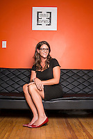 Owner of Edible Events Jane West (cq) in Denver, Colorado, Sunday, July 20, 2014. <br /> <br /> Photo by Matt Nager