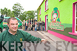 Mike Walsh outside the Randy Leprechaun in Annascaul on Wednesday.