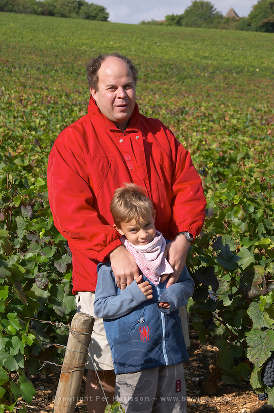 Laurent Juillot and son owner dom m juillot mercurey burgundy france