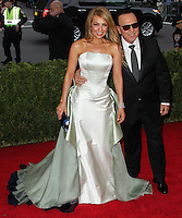 "NEW YORK CITY, NY, USA - MAY 05: Thalia, Tommy Mottola at the ""Charles James: Beyond Fashion"" Costume Institute Gala held at the Metropolitan Museum of Art on May 5, 2014 in New York City, New York, United States. (Photo by Xavier Collin/Celebrity Monitor)"