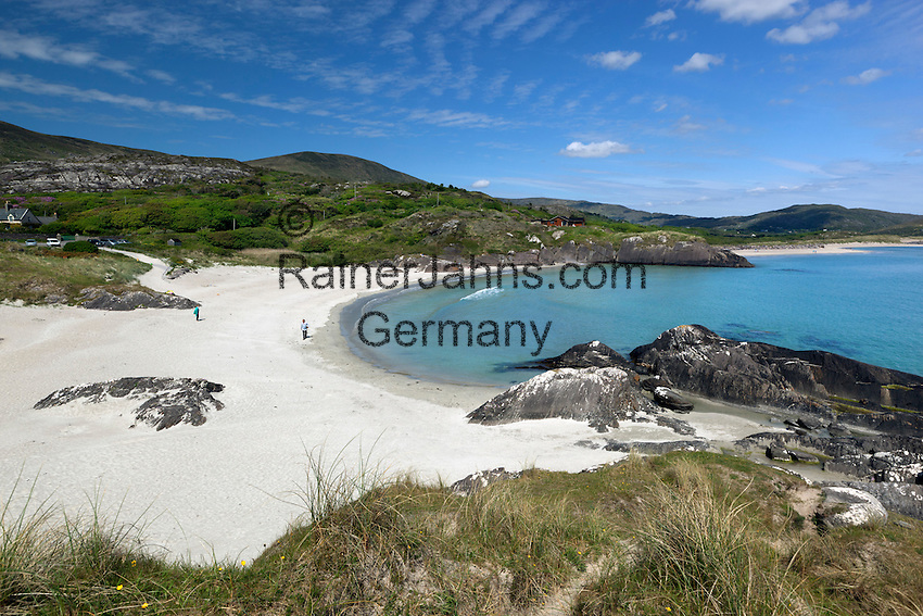 Ireland, County Kerry, Iveragh Peninsula, Ring of Kerry, Derrynane Bay beach view | Irland, County Kerry, Iveragh Halbinsel, Ring of Kerry, Strand an der Derrynane Bay
