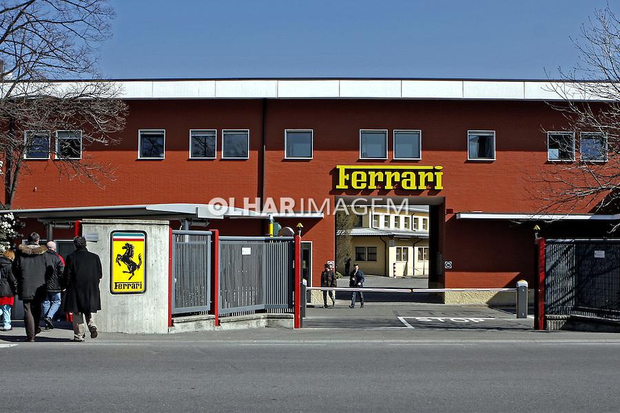 Fábrica da Ferrari. Maranello. Itália. 2007. Foto de Marcio Nel Cimatti.