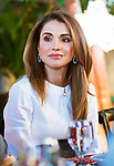 123.06.2017; Amman, Jordan: QUEEN RANIA<br /> joins participants from the Teacher Education Professional Diploma and the Advanced Instructional Leadership Professional Diploma programs for Iftar.<br /> Mandatory Photo Credit: NEWSPIX INTERNATIONAL<br /> <br /> PHOTO CREDIT MANDATORY!!: NEWSPIX INTERNATIONAL(Failure to credit will incur a surcharge of 100% of reproduction fees)<br /> <br /> IMMEDIATE CONFIRMATION OF USAGE REQUIRED:<br /> Newspix International, 31 Chinnery Hill, Bishop's Stortford, ENGLAND CM23 3PS<br /> Tel:+441279 324672  ; Fax: +441279656877<br /> Mobile:  0777568 1153<br /> e-mail: info@newspixinternational.co.uk<br /> &ldquo;All Fees Payable To Newspix International&rdquo;
