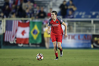 Cary, NC - Saturday April 22, 2017: Emily Menges during a regular season National Women's Soccer League (NWSL) match between the North Carolina Courage and the Portland Thorns FC at Sahlen's Stadium at WakeMed Soccer Park.
