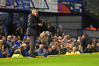Portsmouth Manager Kenny Jackett barks instructions to his players in the final minutes of the match during Portsmouth vs Rotherham United, Sky Bet EFL League 1 Football at Fratton Park on 26th November 2019