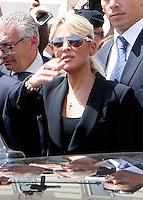 Silvio Berlusconi a Napoli per sostenere ila campagma elettorale di Gianni Lettieri , candidato a Sindaco per il Centrodestra <br /> nella foto  Francesca Pascale