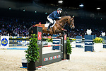 Robert Smith of Great Britain riding Ilton competes in the Longines Grand Prix during the Longines Masters of Hong Kong at AsiaWorld-Expo on 11 February 2018, in Hong Kong, Hong Kong. Photo by Diego Gonzalez / Power Sport Images
