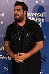 Singer Antonio Orozco attends the photocall of Antonio Orozco´s concert during Universal Music Festival. July 27, 2019. (ALTERPHOTOS/Johana Hernández)