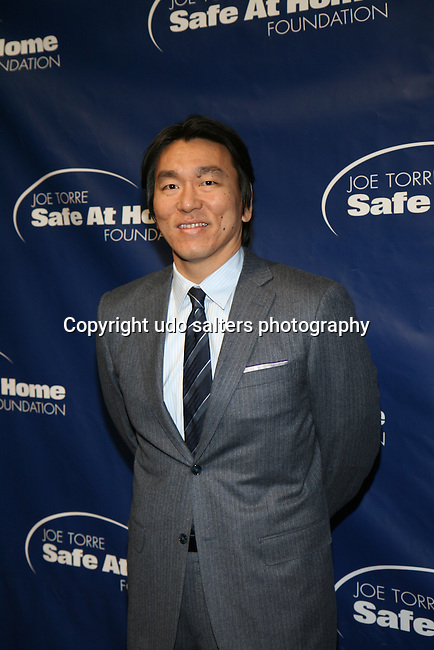 Former New York Yankees' Hideki Matsui Attends the 11TH ANNIVERSARY OF THE JOE TORRE SAFE AT HOME FOUNDATION HELD A CHELSEA PIERS SIXTY, NY