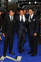 "3T arriving for the ""X-Men: Days of Future Past"" UK premiere at the Odeon Leicester Square, London. 12/05/2014 Picture by: Steve Vas / Featureflash"