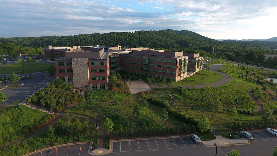 Sentara Martha Jefferson Hospital located in Charlottesville, Virginia. Photo/Andrew Shurtleff