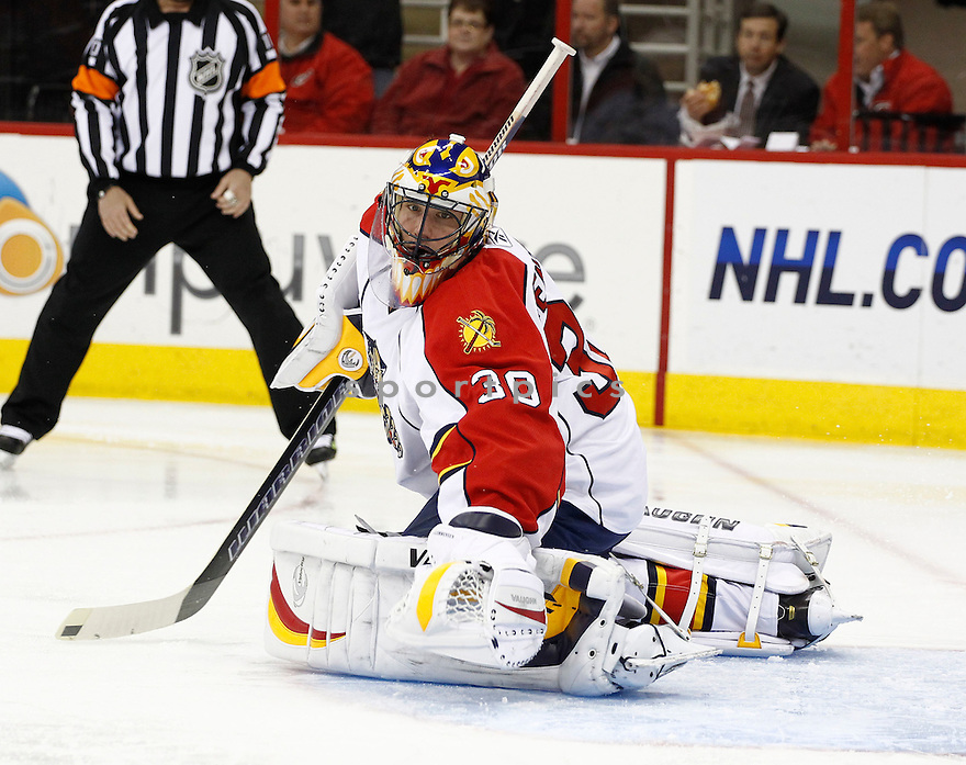 SCOTT CLEMMENSEN, of the Florida Panthers in action.